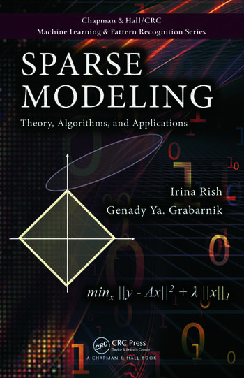 Sparse Modeling Theory, Algorithms, and Applications book cover