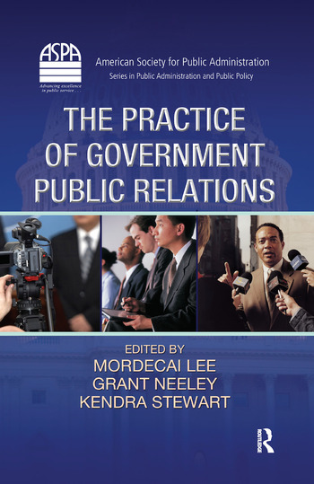 The Practice of Government Public Relations book cover