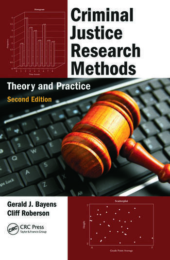 Criminal Justice Research Methods Theory and Practice, Second Edition book cover