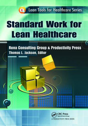 Standard Work for Lean Healthcare book cover