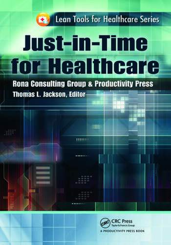 Just-in-Time for Healthcare book cover