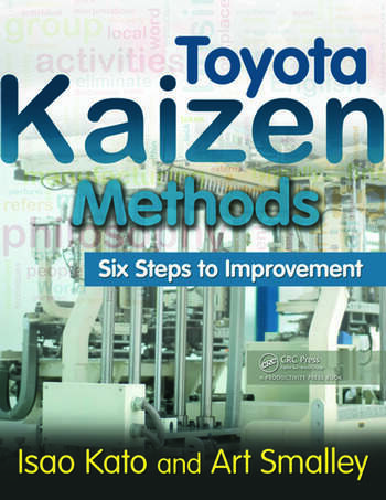 Toyota Kaizen Methods Six Steps to Improvement book cover