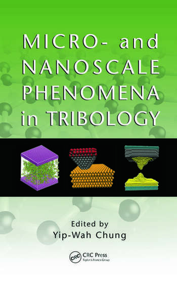 Micro- and Nanoscale Phenomena in Tribology book cover