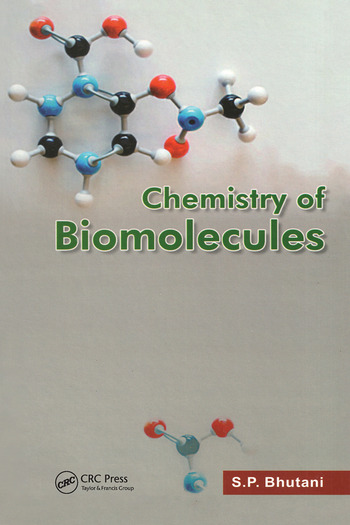 chemistry of biomolecules book cover