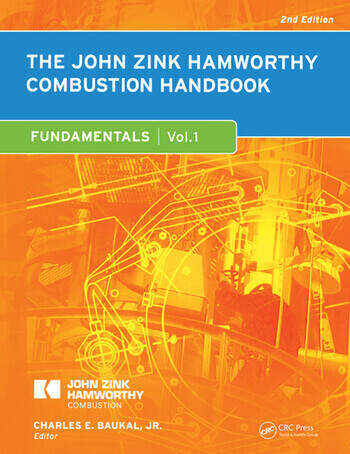 The John Zink Hamworthy Combustion Handbook Volume 1 - Fundamentals book cover