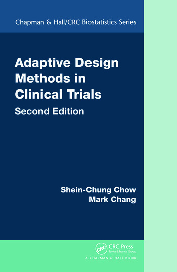 Adaptive Design Methods in Clinical Trials, Second Edition book cover