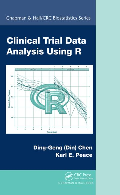 Clinical Trial Data Analysis Using R book cover