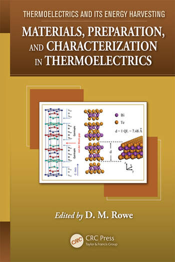Thermoelectrics and its Energy Harvesting, 2-Volume Set book cover
