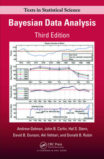 Bayesian Data Analysis, Third Edition book cover