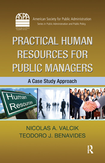 Practical Human Resources for Public Managers A Case Study Approach book cover
