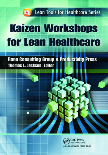 Kaizen Workshops for Lean Healthcare book cover