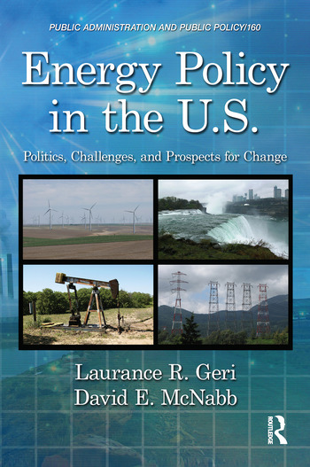 Energy Policy in the U.S. Politics, Challenges, and Prospects for Change book cover