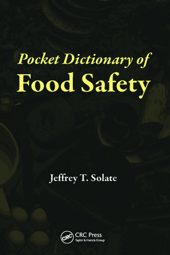 Pocket Dictionary of Food Safety book cover