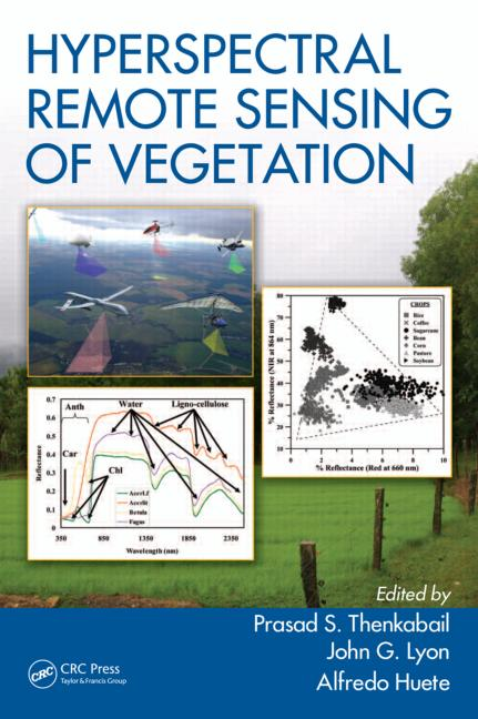 Hyperspectral Remote Sensing of Vegetation book cover