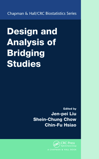 Design and Analysis of Bridging Studies book cover