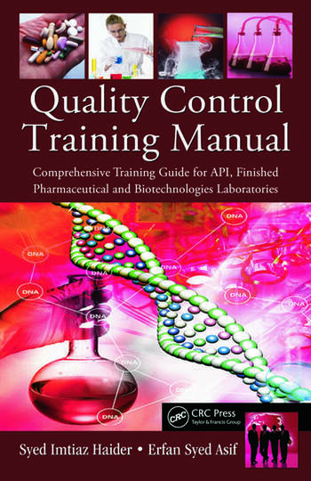 Quality Control Training Manual Comprehensive Training Guide for – Training Manual Cover Page