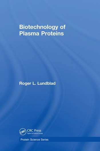 Biotechnology of Plasma Proteins book cover