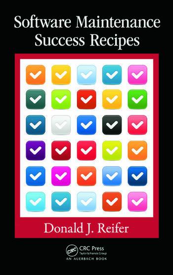 Software Maintenance Success Recipes book cover