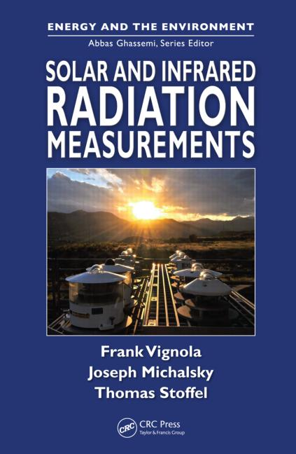 Solar and Infrared Radiation Measurements book cover
