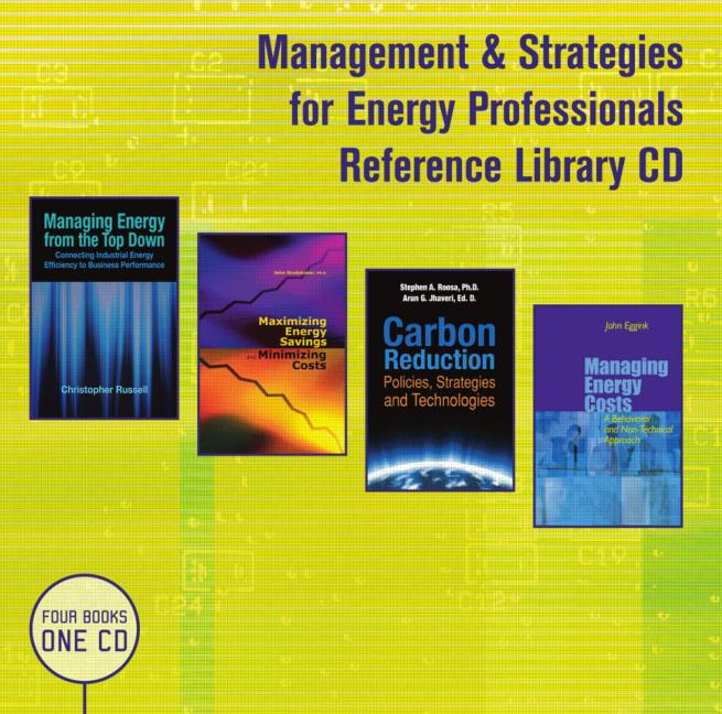 Management & Strategies for Energy Professionals Reference Library CD book cover