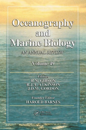 Oceanography and Marine Biology An Annual Review, Volume 49 book cover