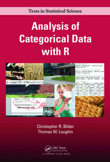 Analysis of Categorical Data with R book cover