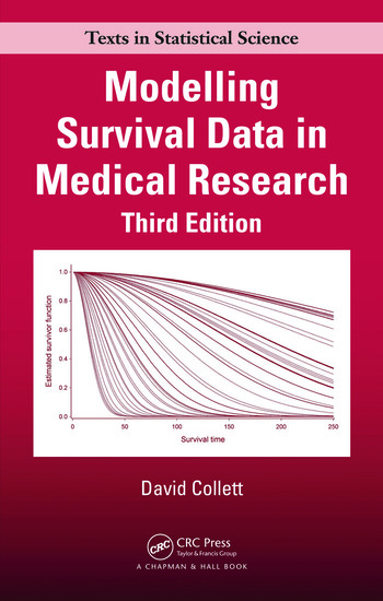 Modelling Survival Data in Medical Research book cover