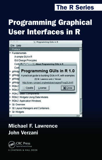 Programming Graphical User Interfaces in R book cover