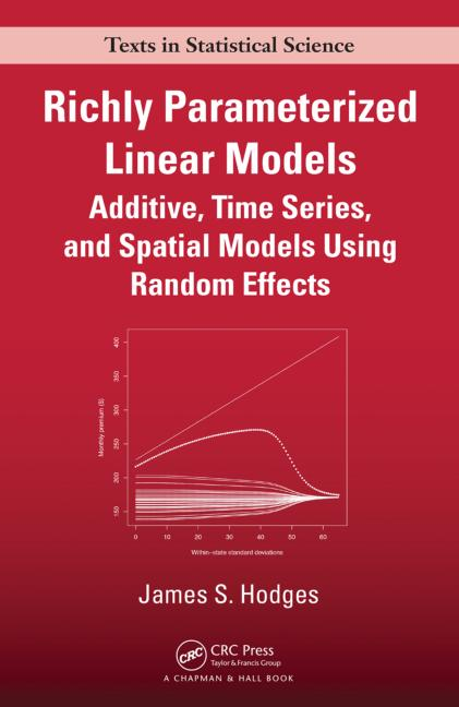 Richly Parameterized Linear Models Additive, Time Series, and Spatial Models Using Random Effects book cover
