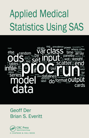 Applied Medical Statistics Using SAS book cover