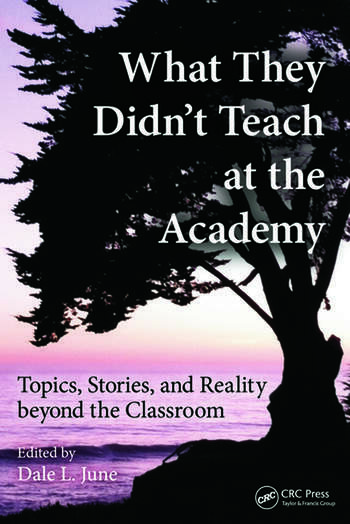 What They Didn't Teach at the Academy Topics, Stories, and Reality beyond the Classroom book cover
