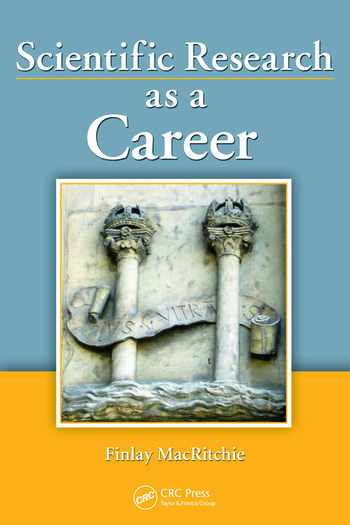 Scientific Research as a Career book cover
