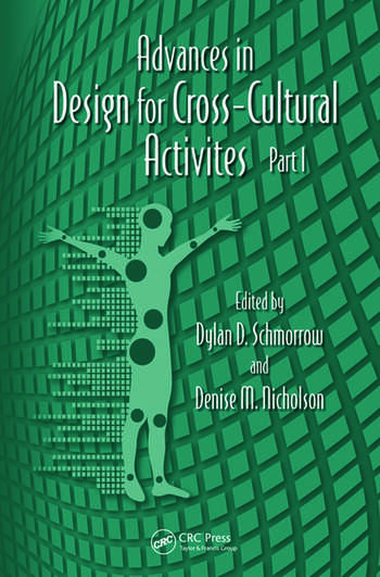 Advances in Design for Cross-Cultural Activities Part I book cover