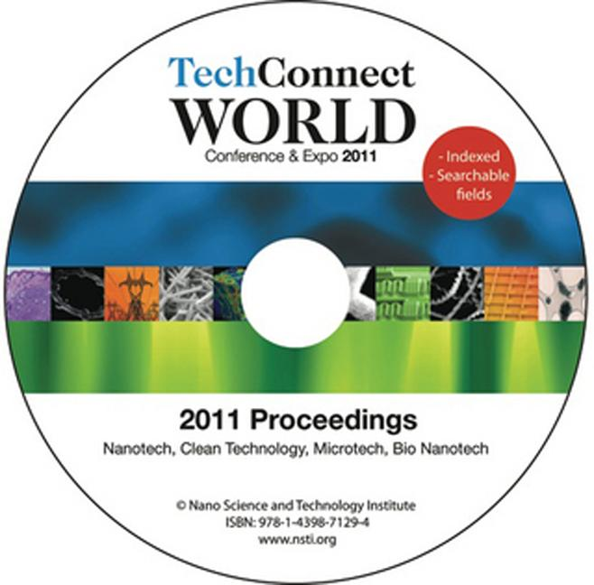 TechConnect World 2011 Proceedings Nanotech, Clean Technology, Microtech, Bio Nanotech Proceedings DVD book cover