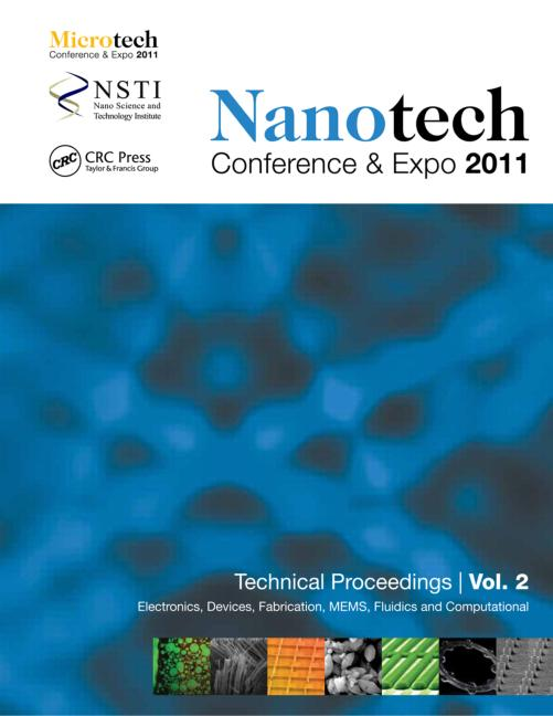 Nanotechnology 2011 Electronics, Devices, Fabrication, MEMS, Fluidics and Computational book cover