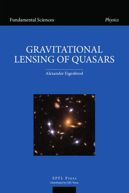 GravItational Lensing of Quasars book cover