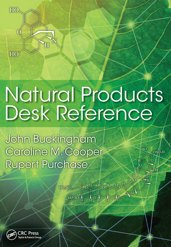 Natural Products Desk Reference book cover