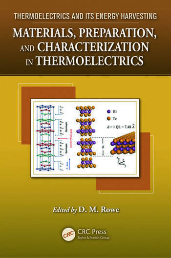 Materials, Preparation, and Characterization in Thermoelectrics book cover