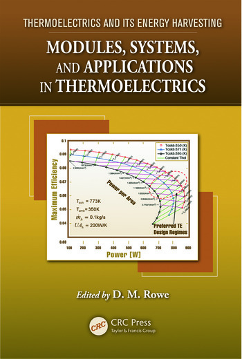 Modules, Systems, and Applications in Thermoelectrics book cover