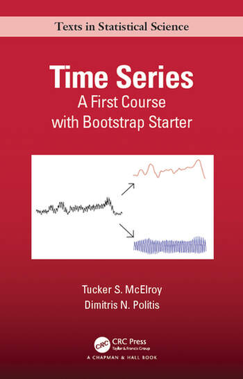 Time Series A First Course with Bootstrap Starter book cover