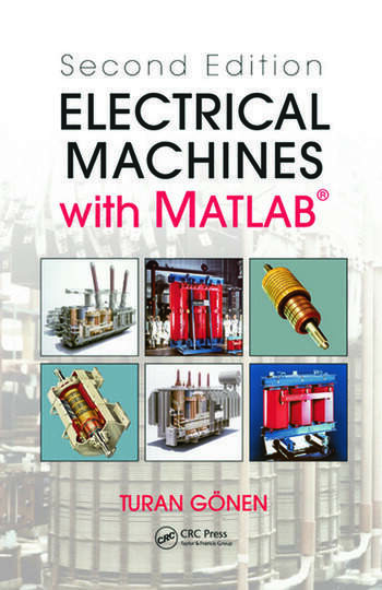 Electrical Machines with MATLAB® book cover