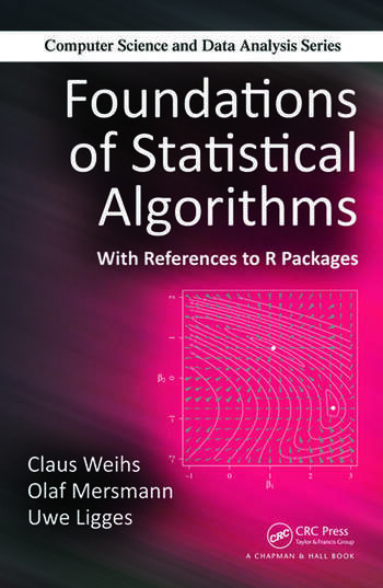 Foundations of Statistical Algorithms With References to R Packages book cover