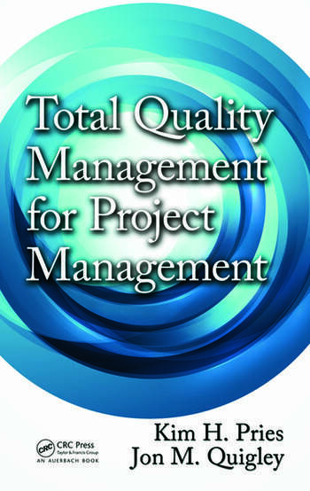 Total Quality Management for Project Management book cover