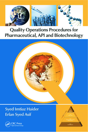 Quality Operations Procedures for Pharmaceutical, API, and Biotechnology book cover