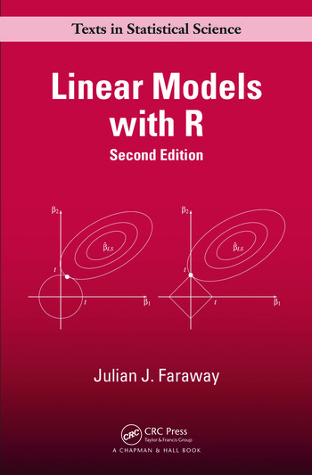 Linear Models with R book cover