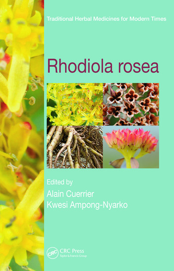 Rhodiola rosea book cover