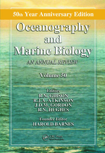 Oceanography and Marine Biology An Annual Review, Volume 50 book cover