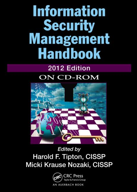 Information Security Management Handbook, 2012 CD-ROM book cover