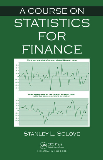 A Course on Statistics for Finance book cover