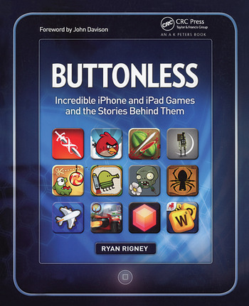 Buttonless Incredible iPhone and iPad Games and the Stories Behind Them book cover